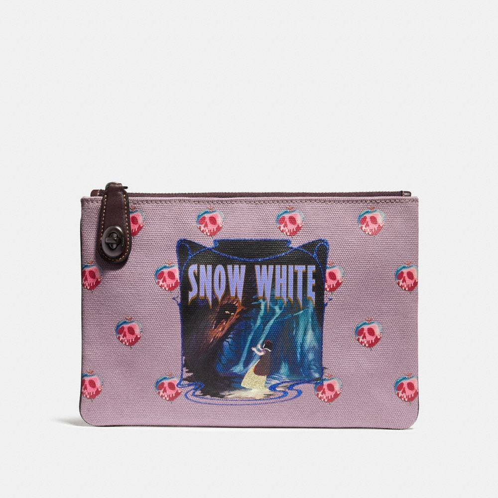 DISNEY X COACH SNOW WHITE TURNLOCK POUCH 26