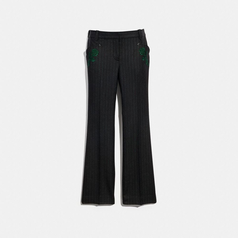 EMBELLISHED TAILORED TROUSER