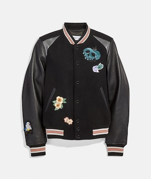 VESTE UNIVERSITAIRE DISNEY X COACH
