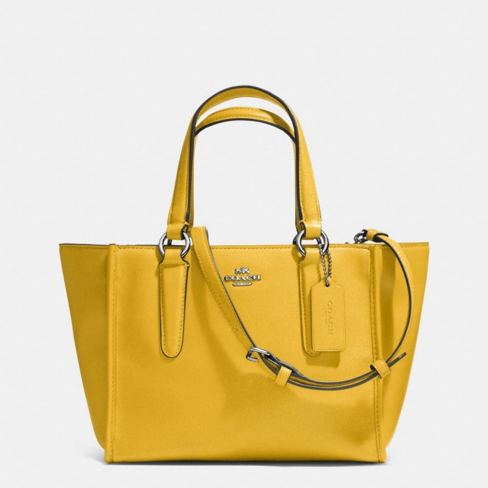 CROSBY MINI CARRYALL IN SMOOTH LEATHER