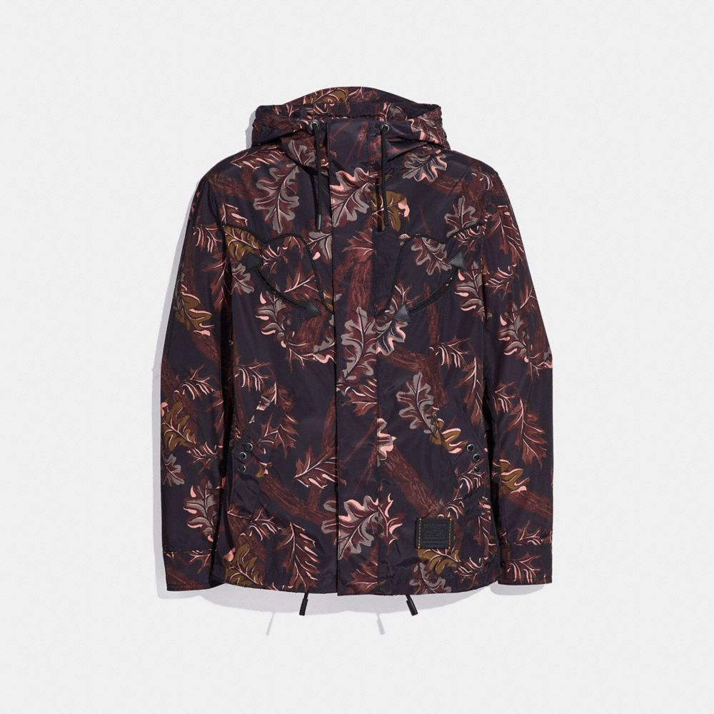 REVERSIBLE PRINTED WINDBREAKER