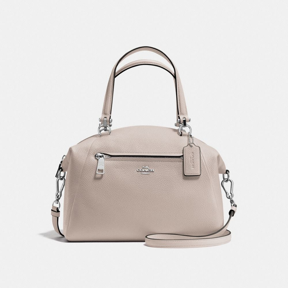 PRAIRIE SATCHEL IN PEBBLE LEATHER
