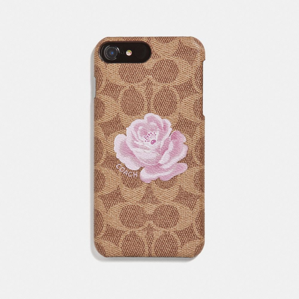 IPHONE 8 PLUS CASE IN SIGNATURE ROSE PRINT