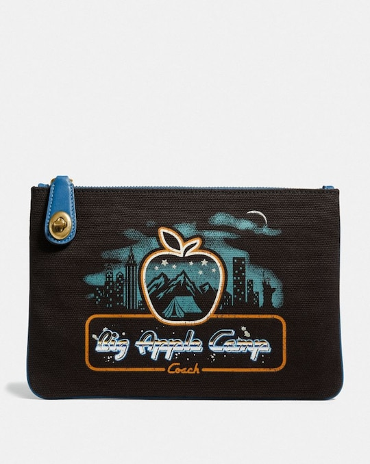 TURNLOCK POUCH 26 WITH SKYLINE BIG APPLE CAMP PRINT