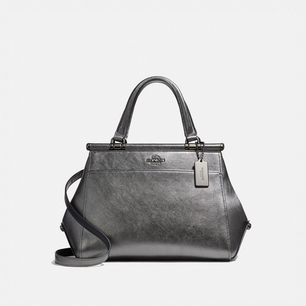 GRACE BAG IN METALLIC LEATHER