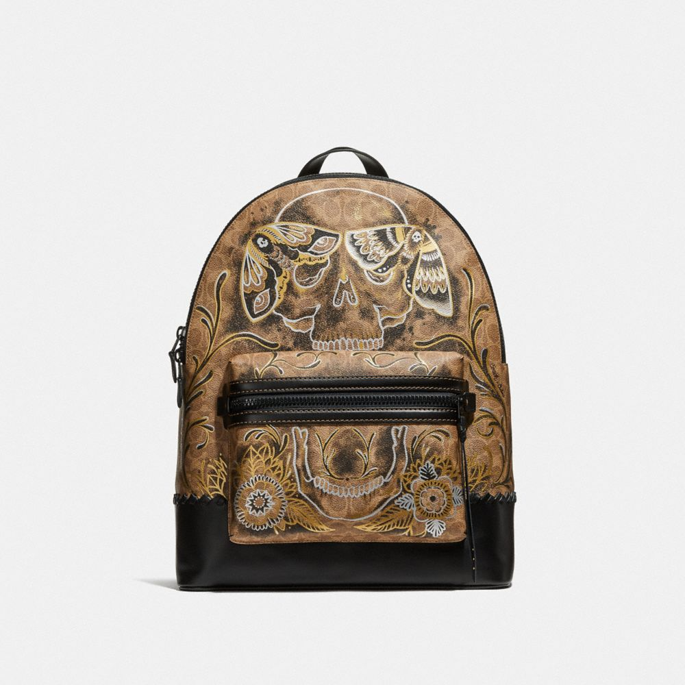 LEAGUE BACKPACK IN SIGNATURE CANVAS WITH TATTOO