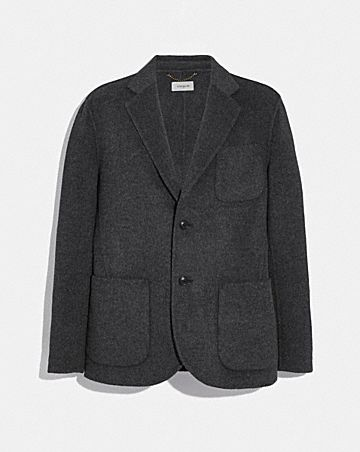 DOUBLE FACED BLAZER
