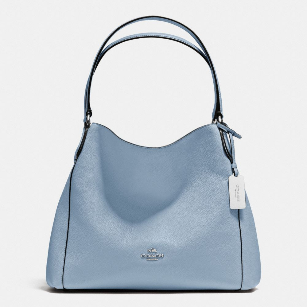 EDIE SHOULDER BAG 31 IN REFINED PEBBLE LEATHER