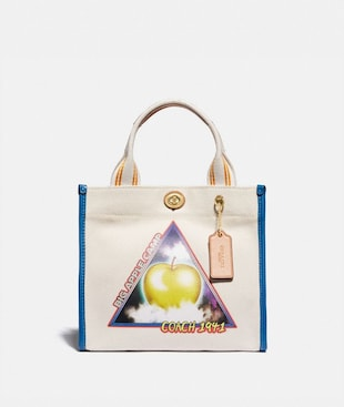 TOTE 22 WITH SCI-FI BIG APPLE CAMP PRINT