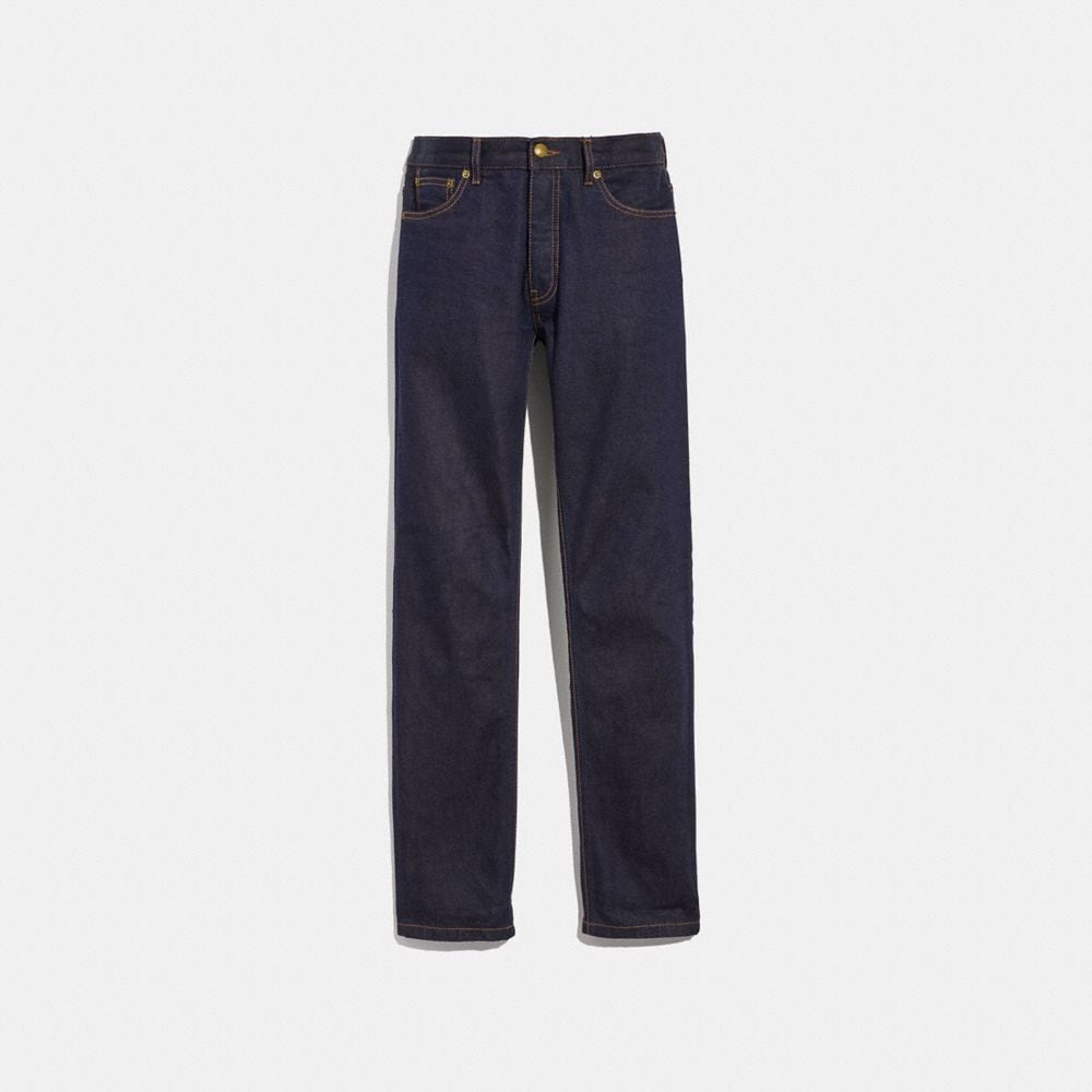 DARK WASH DENIM PANT