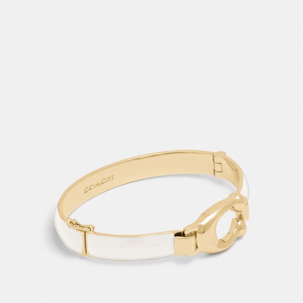 SCULPTED SIGNATURE BANGLE
