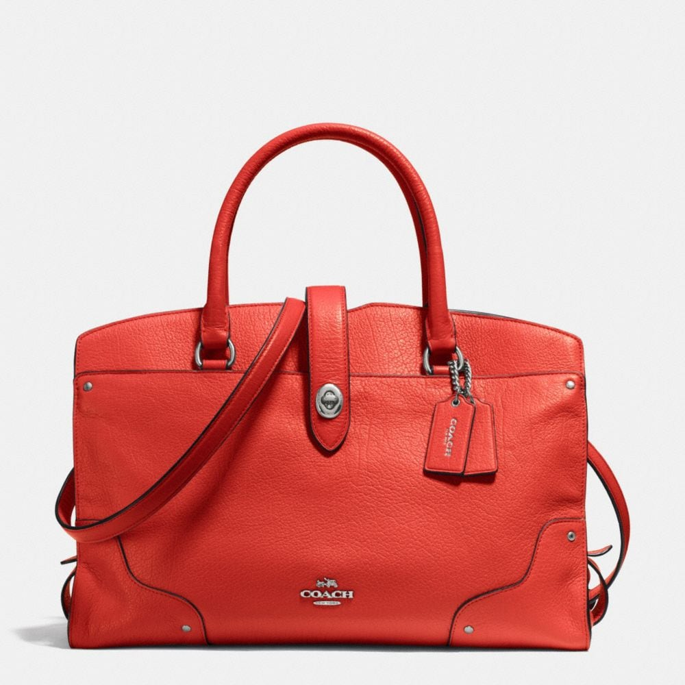 MERCER SATCHEL IN GRAIN LEATHER