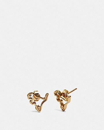 DEMI-FINE CUTOUT REXY EARRINGS