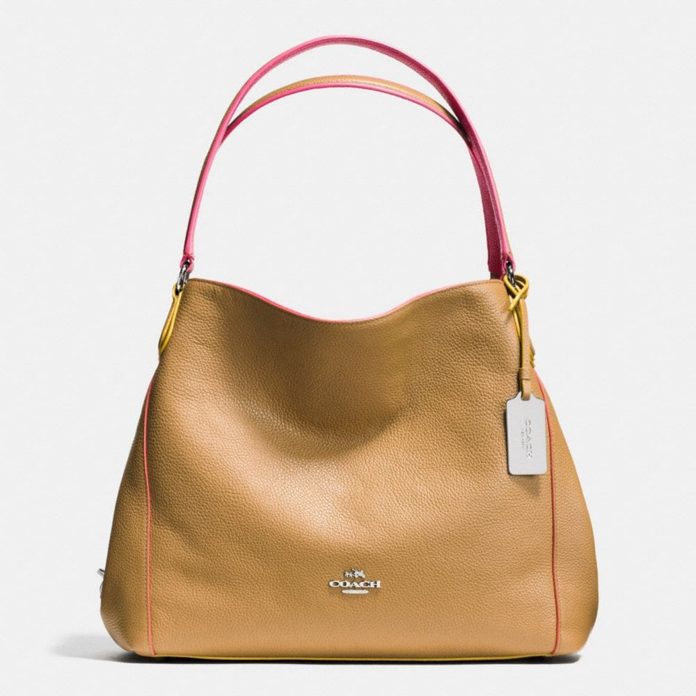 EDIE SHOULDER BAG 31 IN EDGESTAIN LEATHER