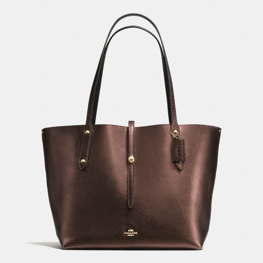 MARKET TOTE IN PEBBLE LEATHER