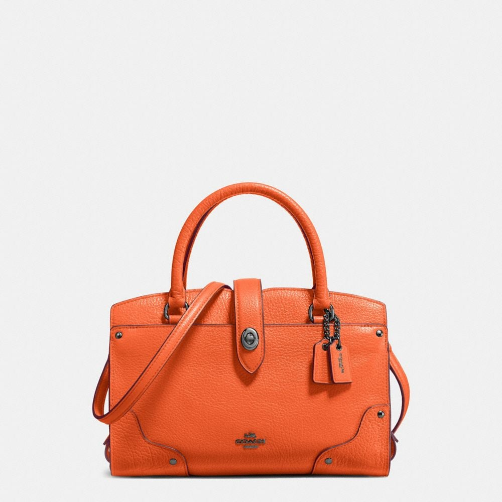 MERCER SATCHEL 24 IN GRAIN LEATHER