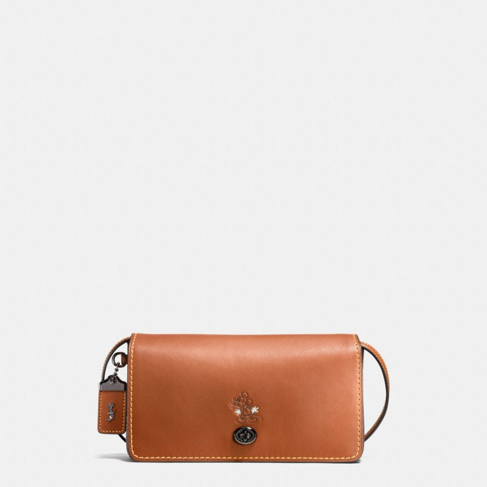 MICKEY DINKY CROSSBODY IN GLOVETANNED LEATHER
