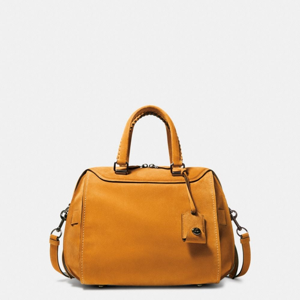 ACE SATCHEL 28 IN SUEDE