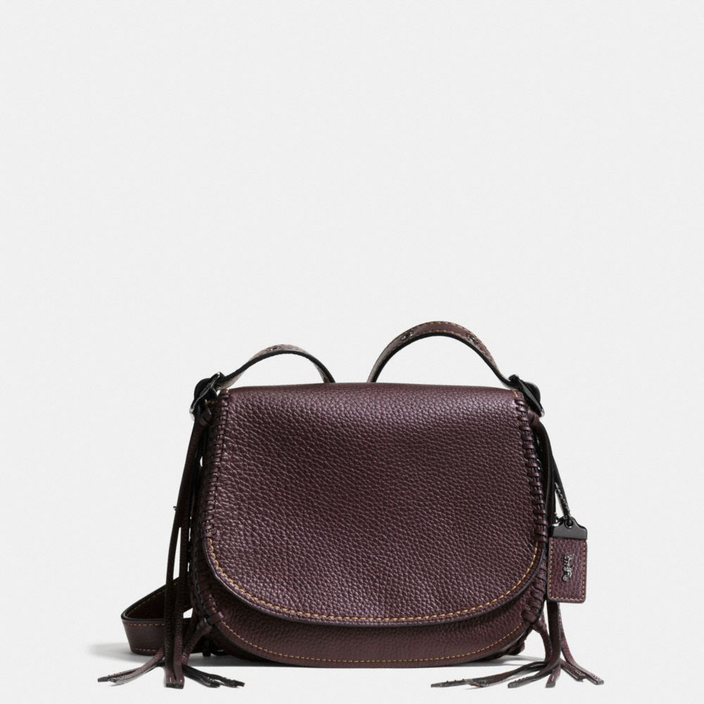 SADDLE BAG 23 IN WHIPLASH LEATHER