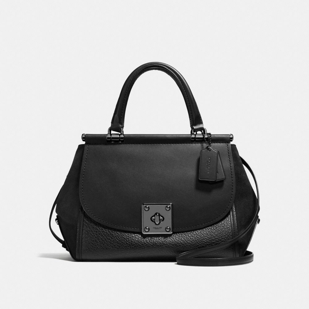 DRIFTER CARRYALL IN MIXED LEATHER