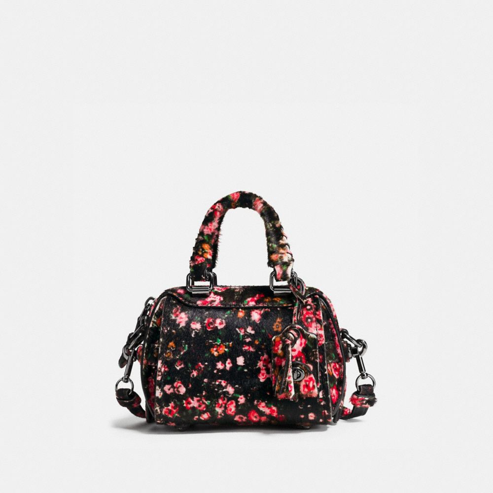 ACE SATCHEL 14 IN PRINTED HAIRCALF