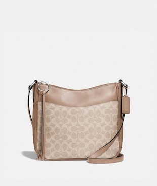 CHAISE CROSSBODY IN SIGNATURE CANVAS