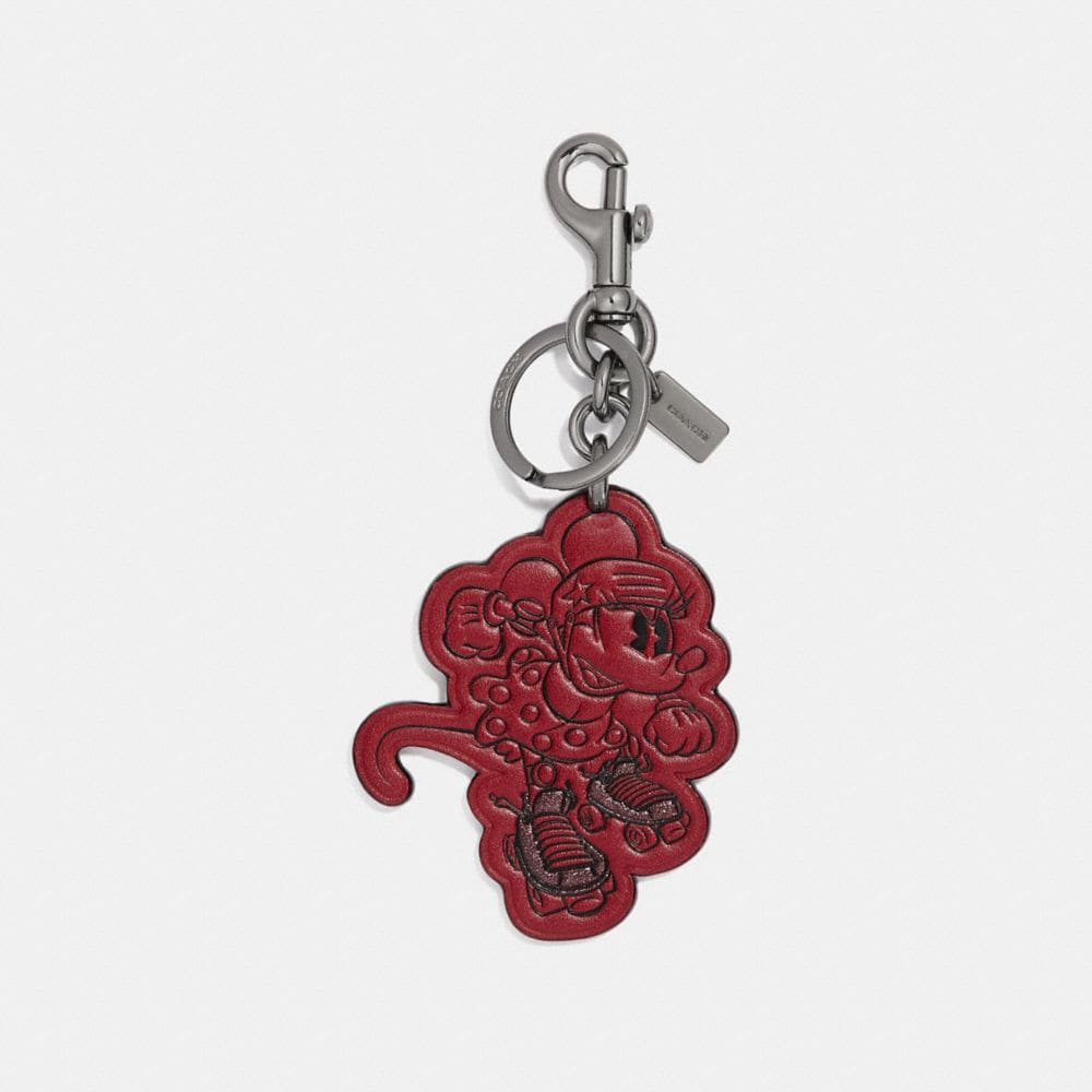 BOXED MINNIE MOUSE ROLLERSKATE BAG CHARM
