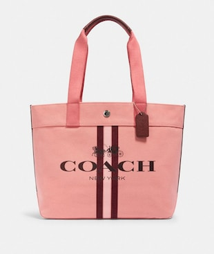 TOTE WITH STRIPE