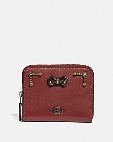 8d11bce7ae03 selena small zip around wallet with crystal.
