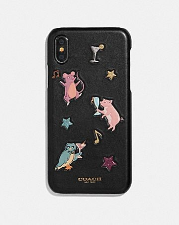 IPHONE X/XS CASE WITH PARTY ANIMALS PRINT