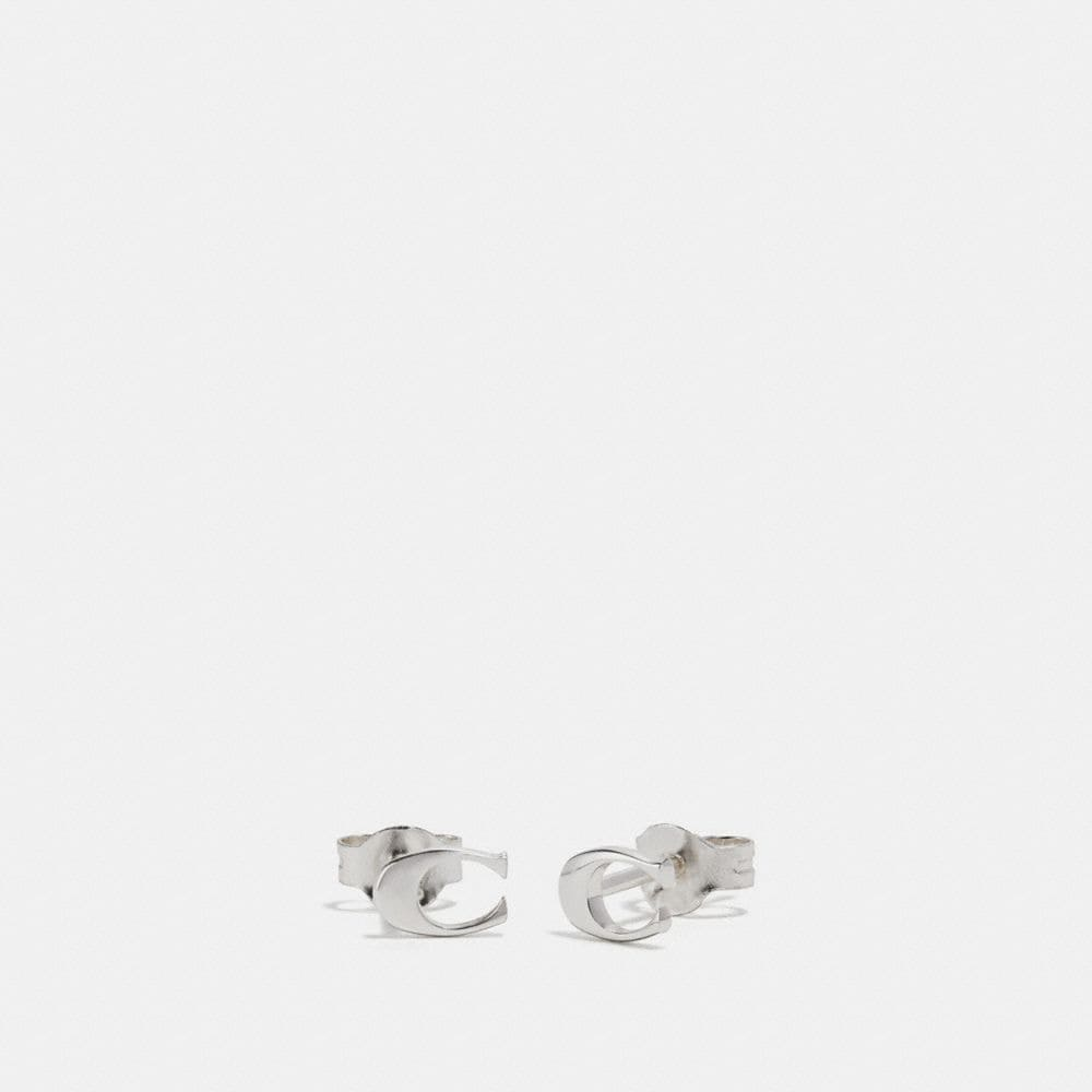 SIGNATURE STUD EARRINGS