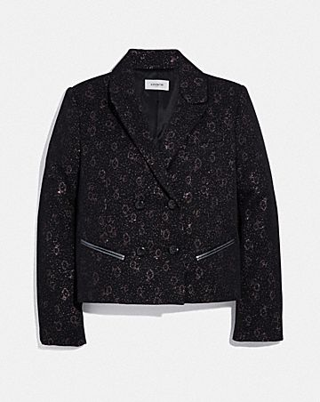 TAILORED JACQUARD JACKET