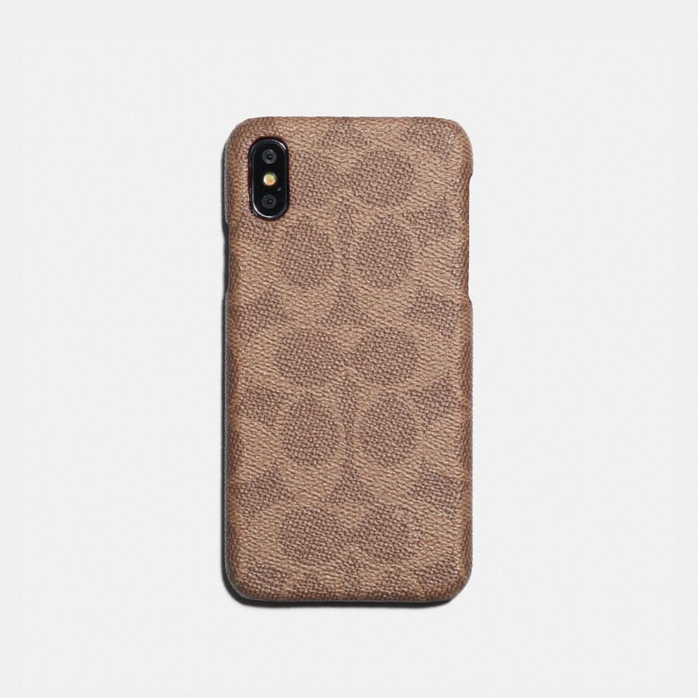 IPHONE X/XS CASE IN SIGNATURE CANVAS