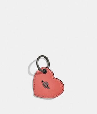 HEART TAB KEY RING