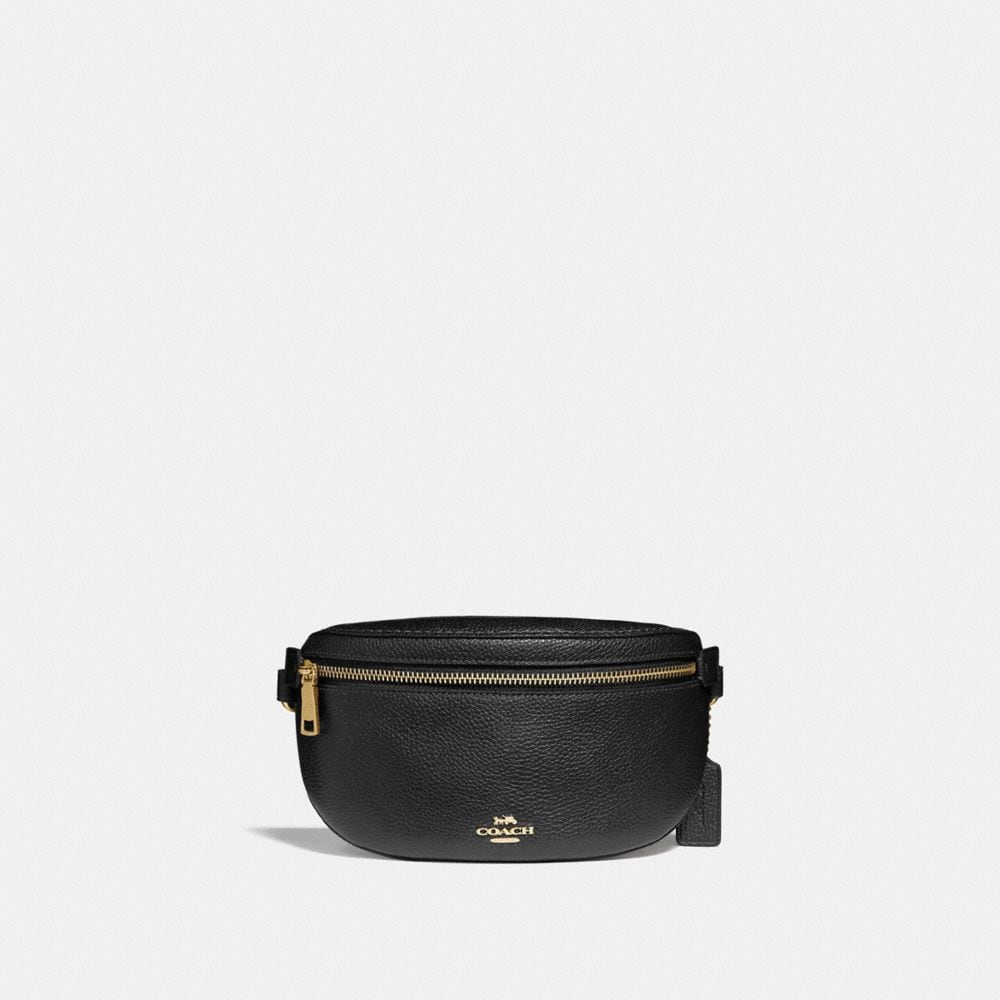 BELT BAG IN POLISHED PEBBLE LEATHER