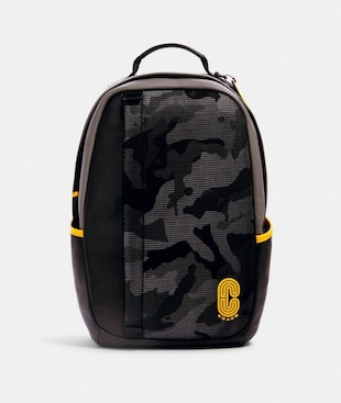 EDGE BACKPACK WITH CAMO PRINT