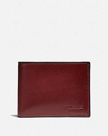 8f09ccac4f0b Men's Leather Wallets | COACH ®