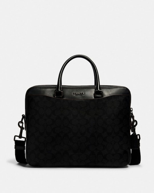 BECKETT DAY BAG IN SIGNATURE CANVAS