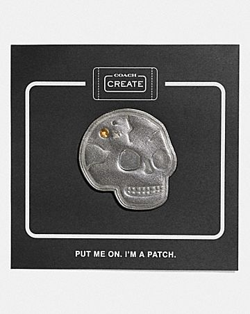 SKULL SHOE PATCH