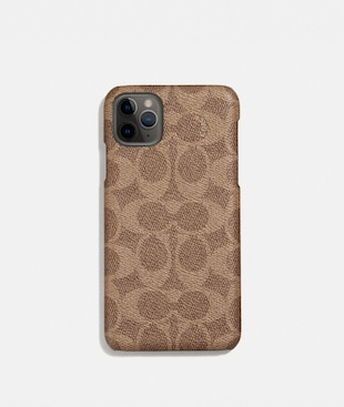 IPHONE 11 PRO MAX CASE IN SIGNATURE CANVAS