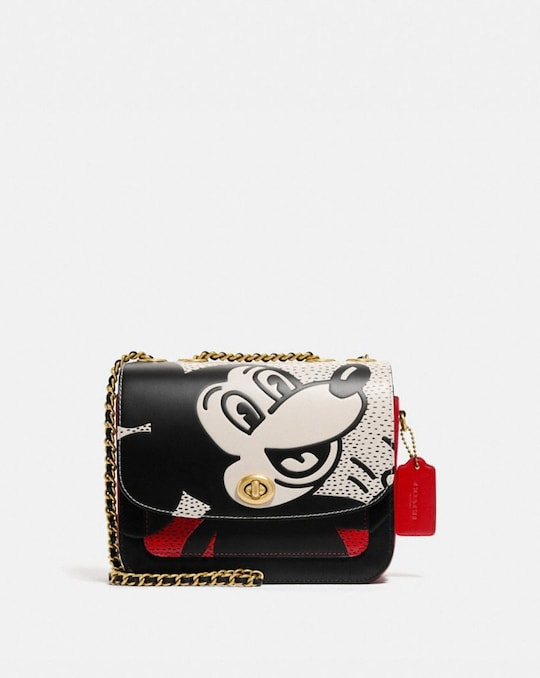 SAC ÉPAULE MADISON DISNEY MICKEY MOUSE X KEITH HARING