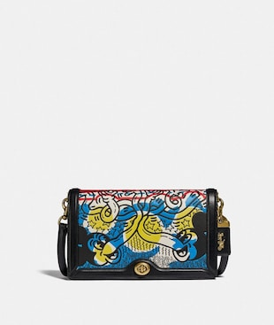DISNEY MICKEY MOUSE X KEITH HARING RILEY UMHÄNGETASCHE