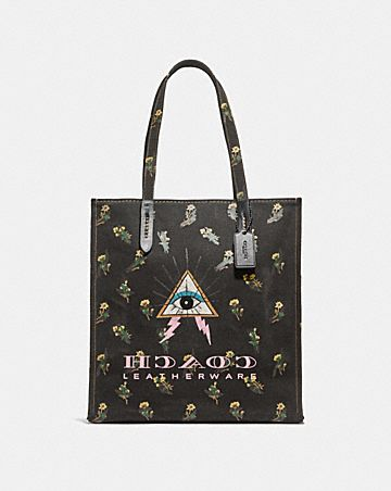 TOTE WITH PYRAMID EYE