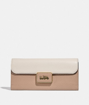 ALIE WALLET IN COLORBLOCK