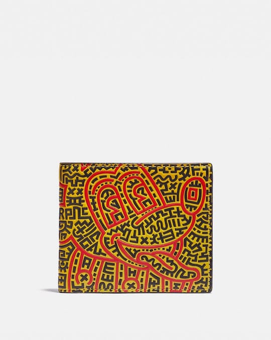 DISNEY MICKEY MOUSE X KEITH HARING FALTPORTEMONNAIE