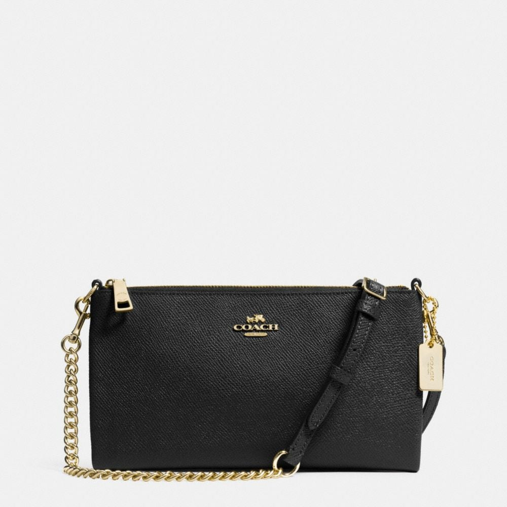 KYLIE CROSSBODY IN EMBOSSED TEXTURED LEATHER