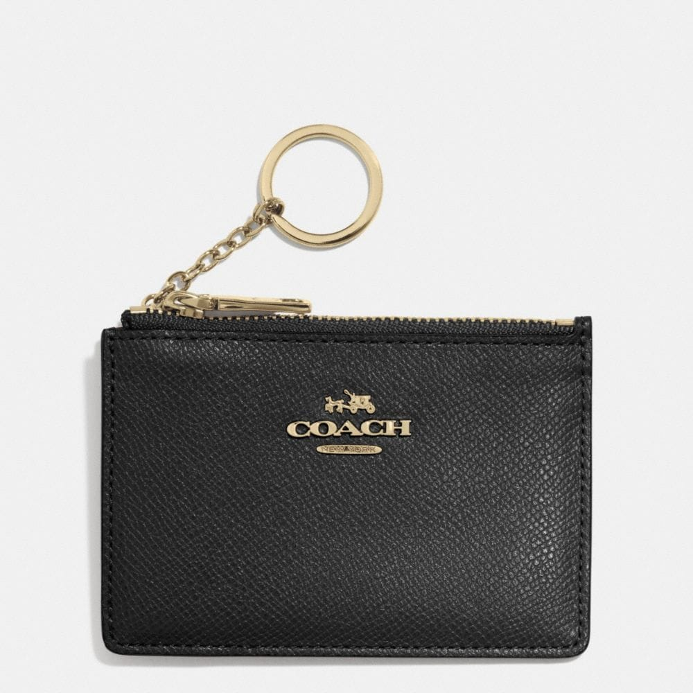 MINI SKINNY IN EMBOSSED TEXTURED LEATHER