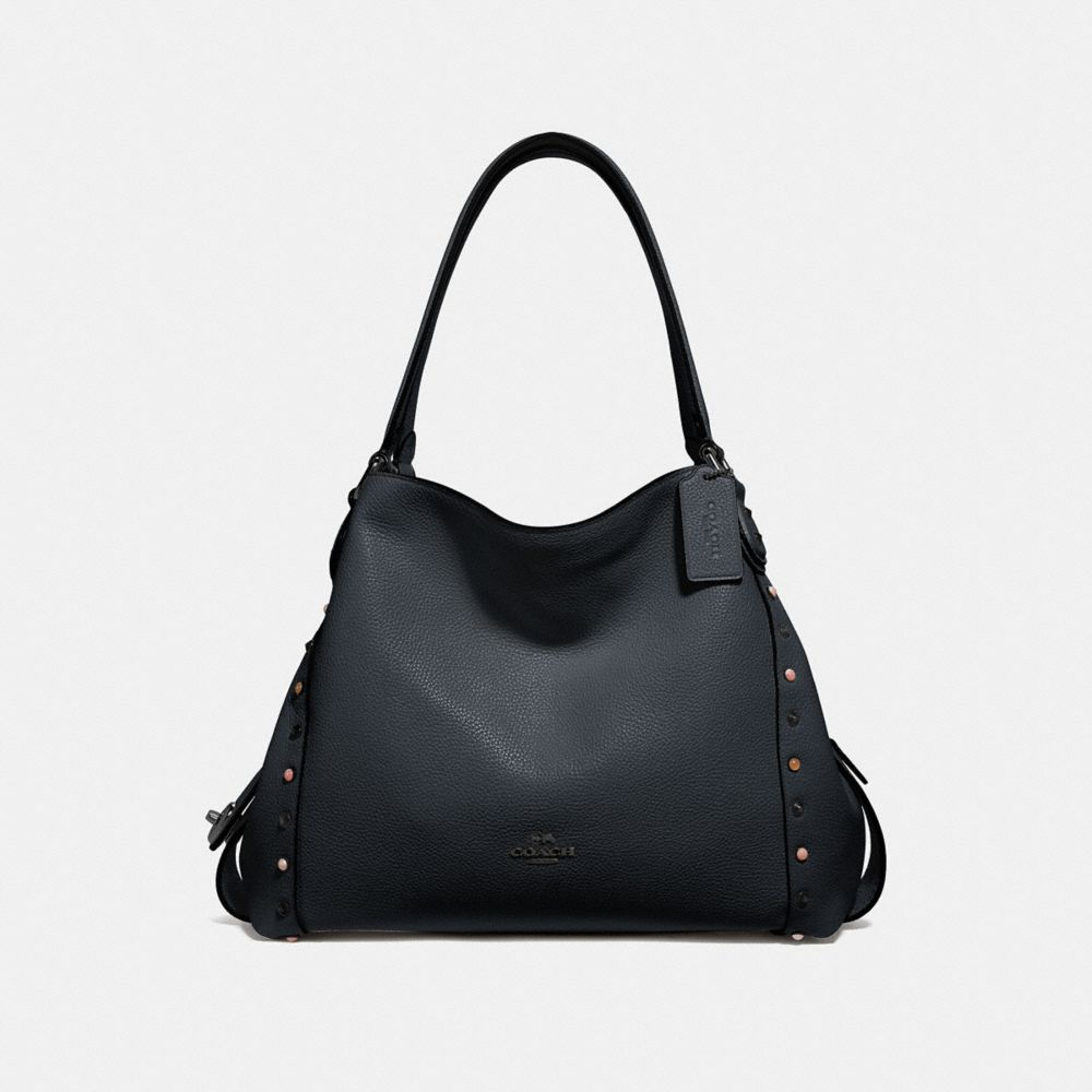 EDIE SHOULDER BAG 31 WITH RIVETS