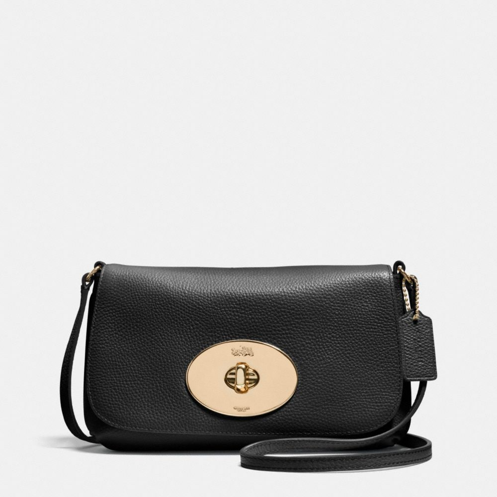 LIV CROSSBODY IN PEBBLE LEATHER