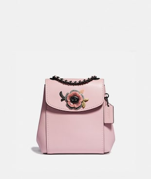 PARKER CONVERTIBLE BACKPACK 16 WITH TEA ROSE STONES